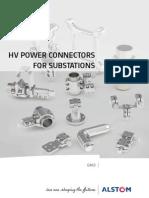 Alstom Catalogue HV Connectors