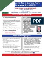CLPC Annual Meeting 2015
