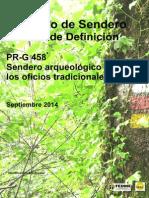 1_Proyecto Sendero_Estudio Definicion Sendero PR_G 458
