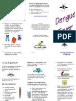 Pamphlet Dengue