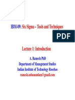 1_Introduction to Six Sigma