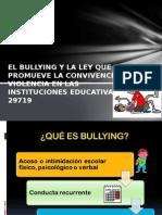 El Bullying y La Ley Que Promueve La