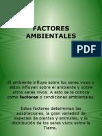 Factores Ambientales(Abioticos y Bioticos)