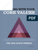Aligning Core Values Life Coaches Version