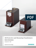 Catalogue Protective and Measuring Transformers m4 En