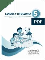 Cuaderno de Trabajo Literatura 5to Egb