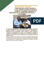 Proyecto de Ley-+CONGRESISTA MELGAR VALDEZ