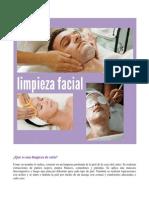 Limpieza Facial Integral
