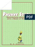 Phunny Stuph Proofreading Exercises With a Sense of Humor (1)