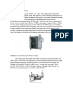 Mekanisme Kerja Dryer