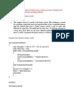 Java Sample Programs