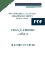 TutorialFormatacaoTrabalhosAcademicosMicrosoftOfficeWord2010 (1)