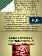 Conferencia Graciela Diaz