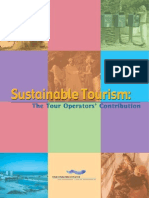 Sustainable Tourism - The Tour Operator's Contribution