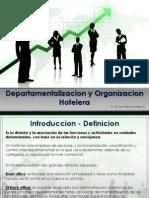 Departamentalizacion  y Organizacion  Hotelera