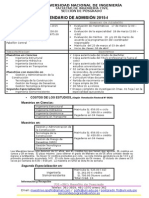 Maestrias Marzo Calendario Academico 2015-I