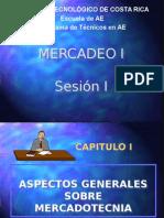 SESION I-ASPECTOS GENERALES SOBRE MERCADOTECNIA I.pptx