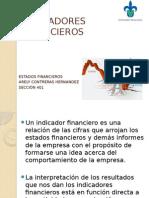 Indicadores Financieros- Estados Financieros