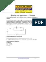 Eletrodinamica Circuito Eletrico Com Amperimetro e Voltimetro