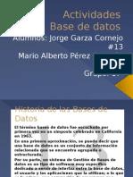 Actividades de Base de datos