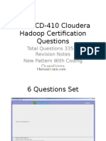Hadoop Preparation