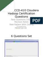 Hadoop Study Questions