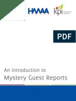 KPI Mystery Guest Service