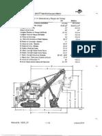 Dimensiones y Rangos de Trabajos Palas495HR