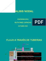 Analisis Nodal  en tuberias