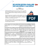 001a Manual Lectio Divina Ficha Animadores
