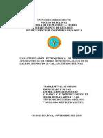 Tesis-Caracterizacion Petroquimica de Las Rocas TESIS