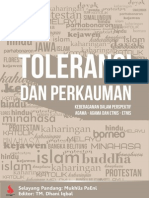 Toleransi Dan Perkauman - Keberagaman Dalam Perspektif Agama-Agama Dan Etnis-Etnis-libre