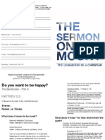 The Sermon on the Mount Lesson 4 Happiness - Meek