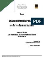 53-U2- Las Fuentes Del Derecho Administratio-7065V
