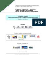 Valle Del Cauca Estructura Productiva y Productos Potenciales