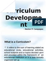 Curriculum Development 2015