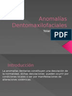 Anomalias Dentomaxilares