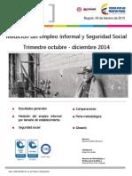 Re Ech Informalidad Oct Dic2014
