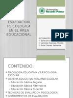 Evaluación Psicologica en El Área Educacional Final