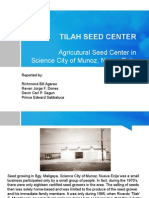 Tilah Seed Center Powerpoint