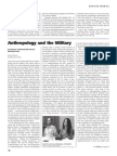 Winnick Anthropology and Military