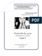 Protocolo Caso1  Orientación conductual