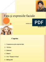 emotii faciale