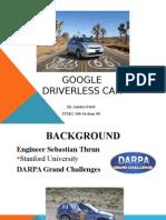 google car Powerpoint Presentation