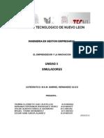 Unidad 5 SIMULADORES (Elemprendedorylainnovacion) TEXTO