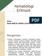 ppt eritrosit