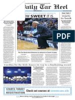 The Daily Tar Heel for March 23, 2015
