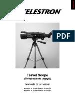 Travel Scope Instruction Manual Italian