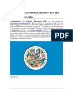 caracteristicas Particulares OEA