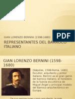 Representantes Del Barroco Italiano
